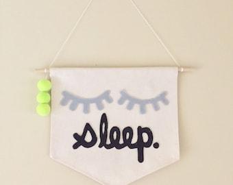 Sleep Wall Banner