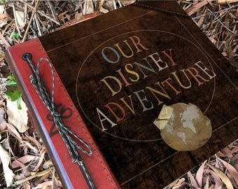 Our theme park Adventure Book Handmade and Personalized