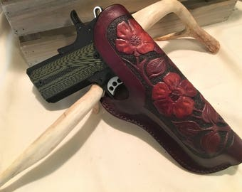 """Holster - Western Styling for 1911s with 5"""" Barrel"""