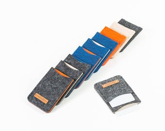 Mini Card case, cover for cards, card case, card case, chip card case, business card pocket, mini purse, mens wallet [NENO]