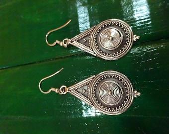 Sterling Silver earrings design hindu