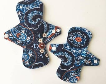 Regular cloth pad and mini day liner