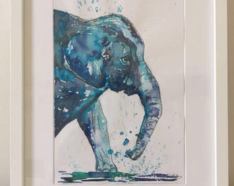 Splash of an Elephant
