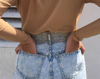 Vintage Jeans With Gorgeous Stitching