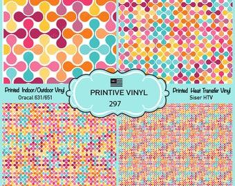 Abstract metaball Printed Vinyl/Siser HTV/ Oracal/ Indoor Vinyl/ Outdoor Vinyl/ Heat Transfer Vinyl- 297