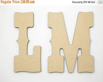 20% OFF 50cm MDF Wood Wooden Letters 3mm Thick WES
