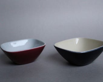 Unique Pair of Dishes - Rörstrand - Marianne Westman - PANERA - Picknick - 1950's - Sweden