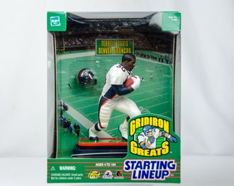 Starting Lineup Gridiron Greats Terrell Davis Action Figure Denver Broncos