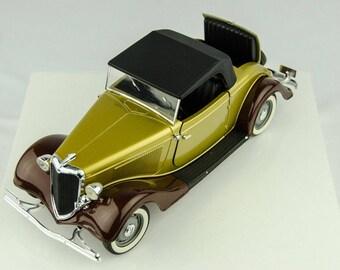 original box rare solido ford v8 roadster 119 scale diecast car