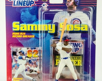 Starting Lineup Baseball 1999 Home Run Breakers Sammy Sosa Action Figure Cubs