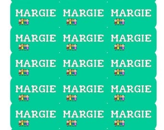 Back To School Waterproof Labels Name Stickers Kids Name Stickers Name Tag Labels ID Name Labels Daycare Labels Personalized Name Labels