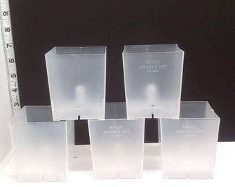3'' Rand Aircone Orchid Clear Pots Sophie's Orchids 331398116388