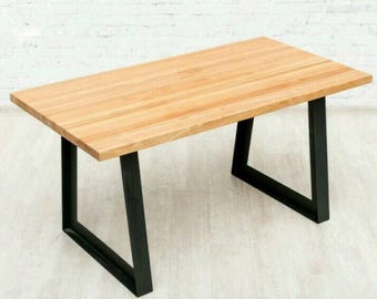 Rustic Kitchen Table   Wood Coffee Table   Solid Wood Table   Modern Dining  Table