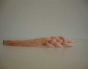 headband / sailor knot headband girl - salmon