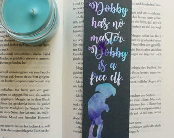Dobby Harry Potter Bookmark