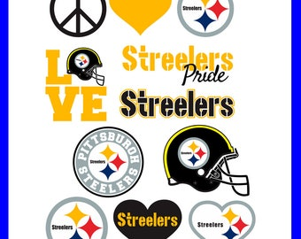 INSTANT DOWNLOAD-Pittsburgh Steelers Cut Files,SVG Files,Baseball Clipart,Cricut Pittsburgh Steelers Cutting,Baseball Dxf,Clipart