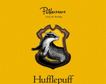 Harry Potter Framed 11 x 17 Print Poster Hufflepuff