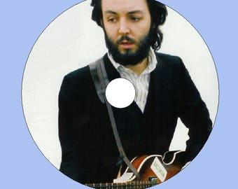 Custom Made Music Clocks from CD/DVD - Paul McCartney Free Shipping!