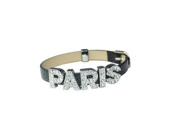 Genuine Leather Bracelet PARIS