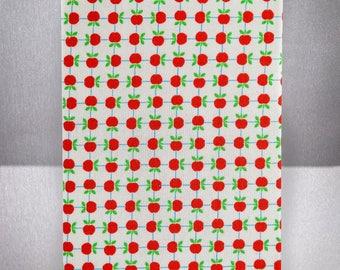 Blank Journal, Hardcover, Ivory Paper - Apples