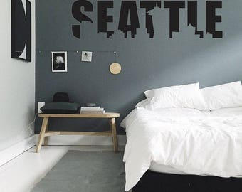 Seattle Wall Decal