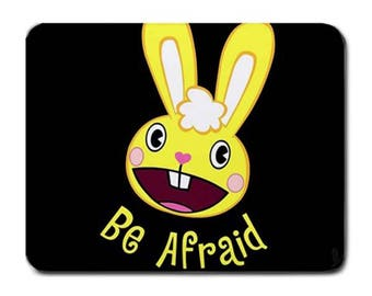 Be Affraid Happy Tree Friends Character Mousepad for Laptop Computer PC Desk Accessories
