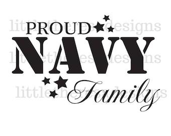 Proud Navy Family Transfer,Digital Transfer , Digital Iron Ons,DIY