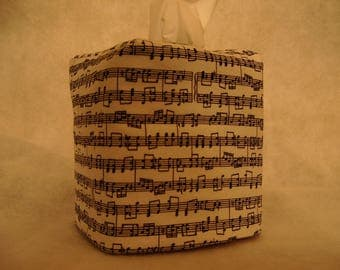 Tissue Box Covers - Music