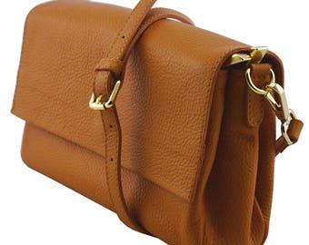 Genuine Leather Woman Clutch