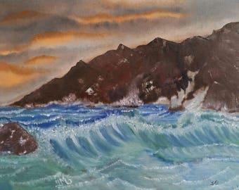 Crashing Waves - Print