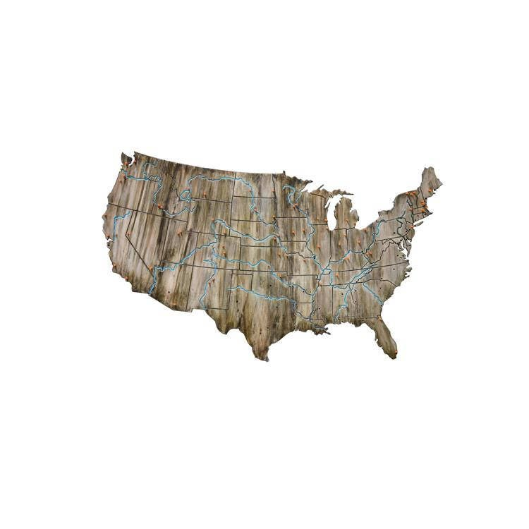 Travel Map USA Travel Map Custom USA Road Trip Map United - Map usa road