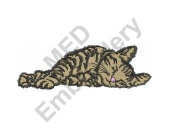 Cat Nap - Machine Embroidery Design