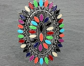 Fashion Ethnic Style Cuff Bracelet-AB1102SBMT0085