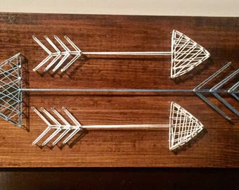 Three Arrows String Art