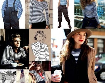 Striped summer shirt with long sleeve vest