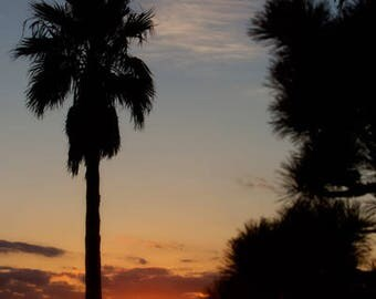 Sunset on Fujisawa Bay