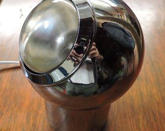 Vintage 60s mid century modern Kovacs eyeball lamp light ~ Original spotlight bulb!