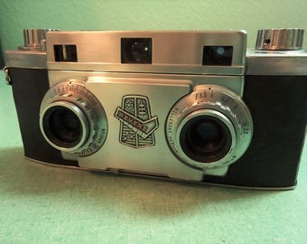 Revere 35MM Stereo Three Dimensional Vintage Camera