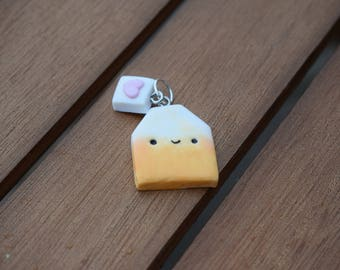 Kawaii Fruit Tea Bag Charm