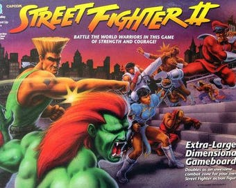 Street Fighter 2 board game RARE