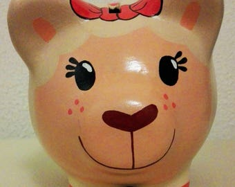Lambie Pork / lamb piggy / Puerquito piggy / piggy bank / Dr. toy sheep