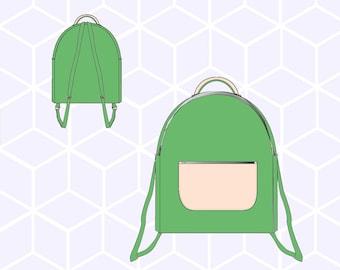 PDF pattern Lara backpack