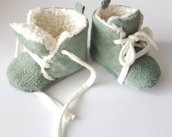 Warm suede baby Shoes
