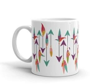 Follow Your Arrow Boho Tribe Travel Wanderer Love Mug
