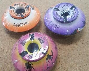 Handmade pottery ashtray