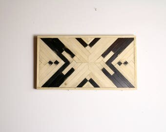 Modern marquetry ethnic