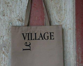 Le Village Khaki Tote