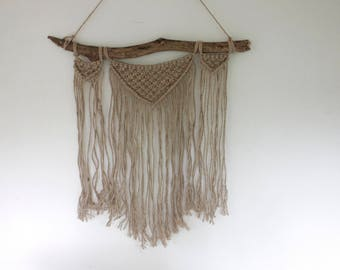 Oonagh // Large Macrame Wallhanging
