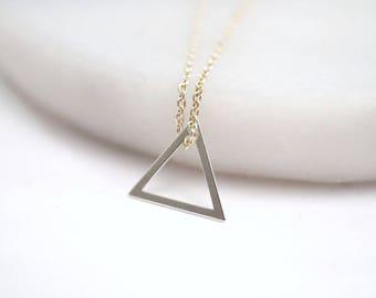 Chain ~ triangle ~ 925 Silver