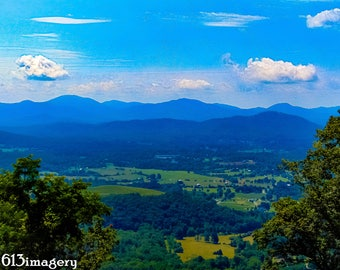Blue Ridge Horizon- digital